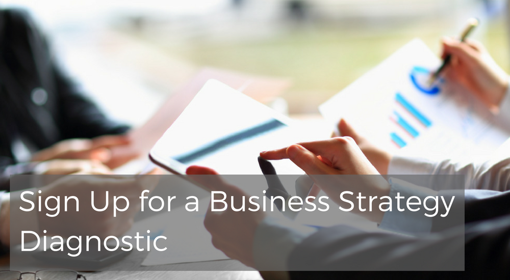 Sequel VCFO Sign Up for a Business Strategy Diagnostic